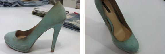Limpieza de zapatos en Pressto