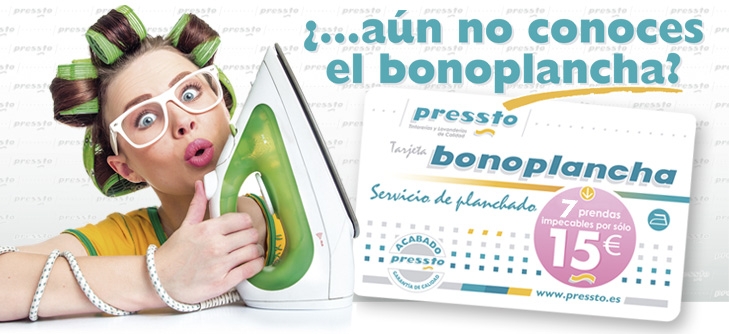 Tarjeta BonoPlancha Pressto