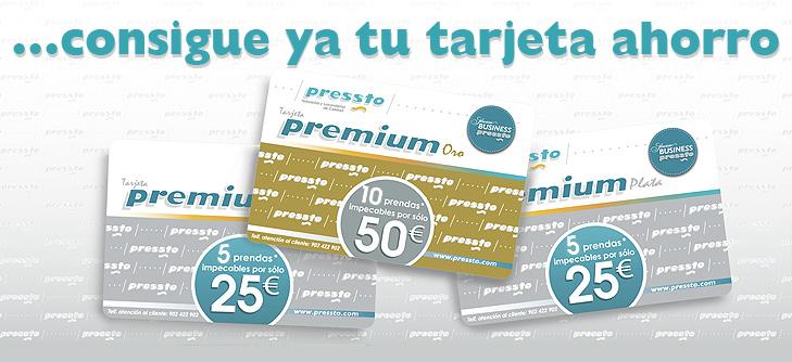 Tarjetas Premium Pressto
