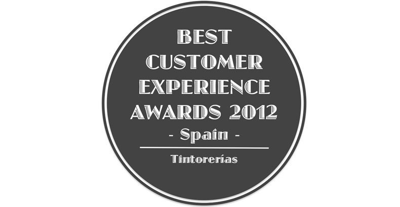 Best customers experience awards 2012