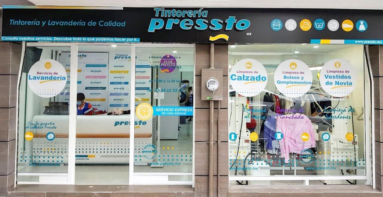 Pressto abre dos nuevas tintorerías en México