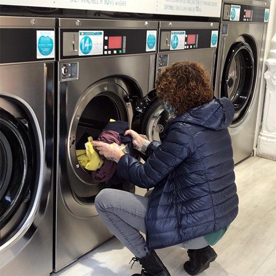 Cita previa lavandería